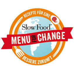 Slow Food Menu for Change. Nachhaltige Lebensmittelproduktion.